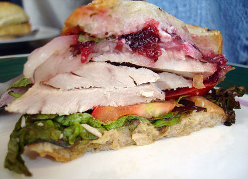 'Wich of the Week: Herb Roasted Turkey With Cranberry Sauce