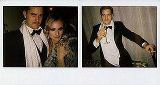 Joshua Jackson and Diane Kruger Celebrate New Year's Eve