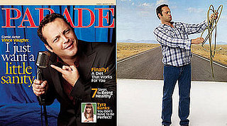 Vince Vaughn in Parade Magazine