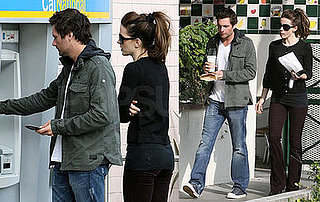 Kate Beckinsale and Len Wiseman Out For Coffee in LA
