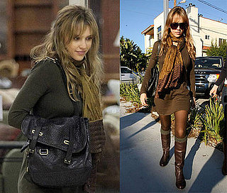 Jessica Alba Shops For Furniture in LA on January 17