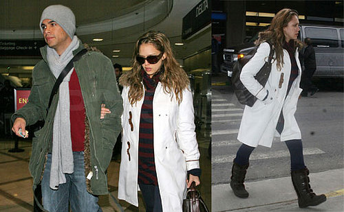 Jessica Alba and Cash Warren at the Sundance Film Festival