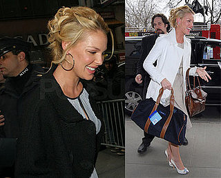 Heigl Shows Off A Few More Dresses To Promote Her 27