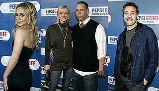 Hayden Panettiere, Jeremy Piven at the Pepsi STUFF Launch Party