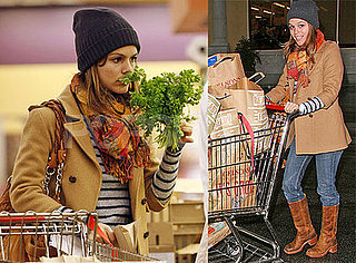 Rachel Bilson Goes to the Grocery Store in LA