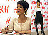 Rihanna at H&amp;M Fashion Against AIDS Launch