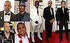 Jay-Z, John Legend, Chris Brown, Chris Daughtry, Seal, Ludacris at the 2008 Grammy Awards Red Carpet