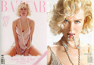 Nicole Kidman as Marilyn Monroe For Australian Harper's Bazaar