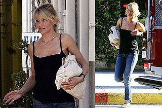Cameron Diaz Out in LA On Feb. 8, 2008