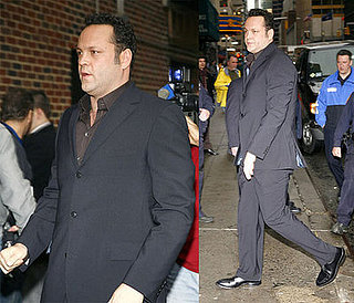 Vince Vaughn on The Late Show with David Letterman