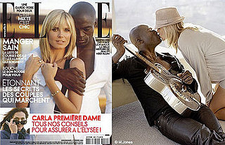 Heidi Klum and Seal For French Elle