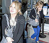 Hilary Duff Traveling