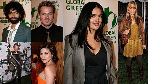 Salma Hayek at the 5th Annual Global Green Pre-Oscar Party