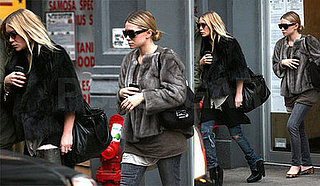Mary-Kate and Ashley Olsen in New York