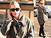 Kate Winslet Walks in NYC on February 24, 2008