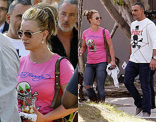 Images of Britney Shopping in LA at Ed Hardy