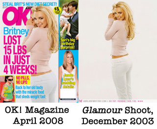 OK! Magazine Uses a Britney Spears Photo From 2003 on Latest Cover