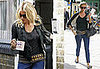 Sienna Miller at the London Passport Office