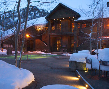 Winter Retreat in Olympic Valley, Calif.