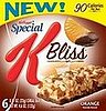 Food Review: Special K Bliss Bar Orange and Chocolate