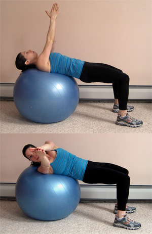 Get on the Ball: Ab Twist