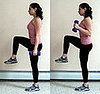 Multitasking Move: Balancing Hammer Curls