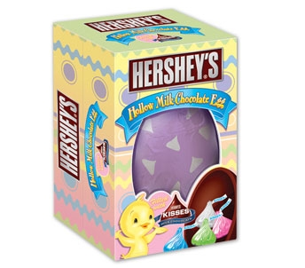 Hershey's Hollow Milk Chocolate Egg