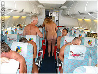 Nudist Flights Offered in Germany