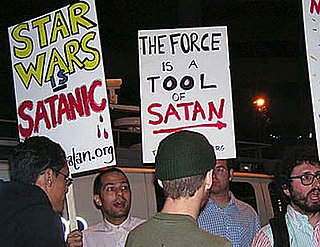 Protesters Think Star Wars Is Satanic