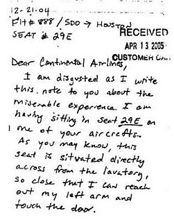 Best Airline Complaint Letter Ever Written