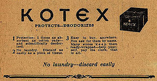 Flashback: Old Kotex Ad