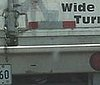"""Wide Ass Turns"" Truck"