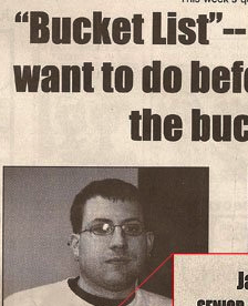 "College Dude Has a Sexy ""Bucket List"" Wish"