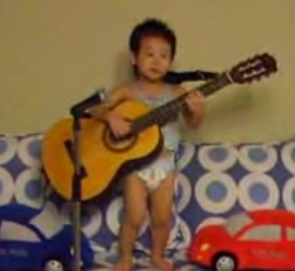 "Kid in Diaper Sings ""Hey Jude"""