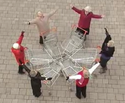 The Shopping Cart Dance