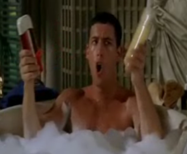 Billy Madison: Shampoo Versus Conditioner