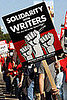 Striking Writers Optimistic After NY Meeting, Still No Vote