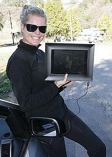 Rebecca Romijn Loves Her New Digital Picture Frame