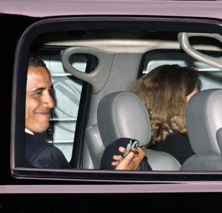 Barack Obama: BlackBerry!