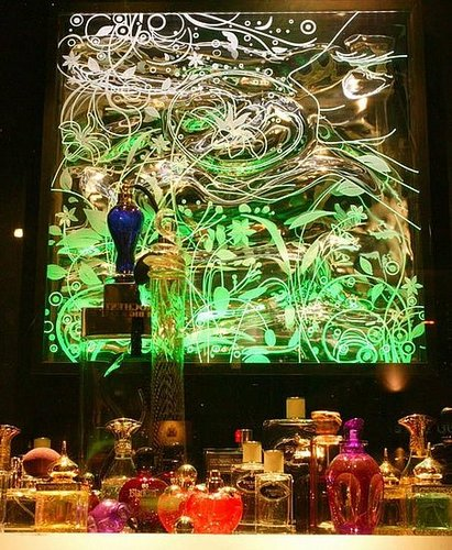 Harrods' In-Store LED Light Display Tantalizes the Tastebuds