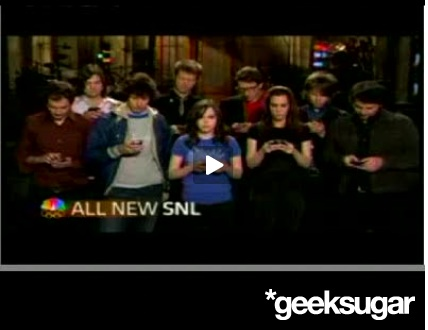 Ellen Page and Wilco Texting for SNL Promo