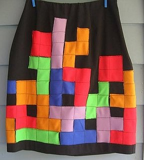 Daily Tech: Confess Your Tetris Love Via a Homemade Skirt