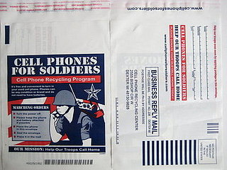 Cell Phones For Soldiers Envelopes Now Come In Amazon Boxes