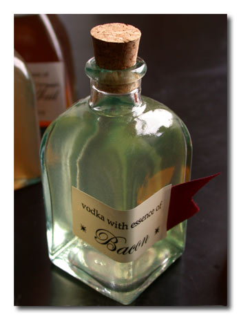 Yummy Link: Bacon Vodka