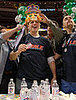 Joey Chestnut Eats 214 Chicken Wings at the Wing Bowl