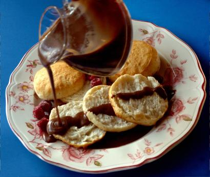 Decadent Breakfast Side: Chocolate Gravy