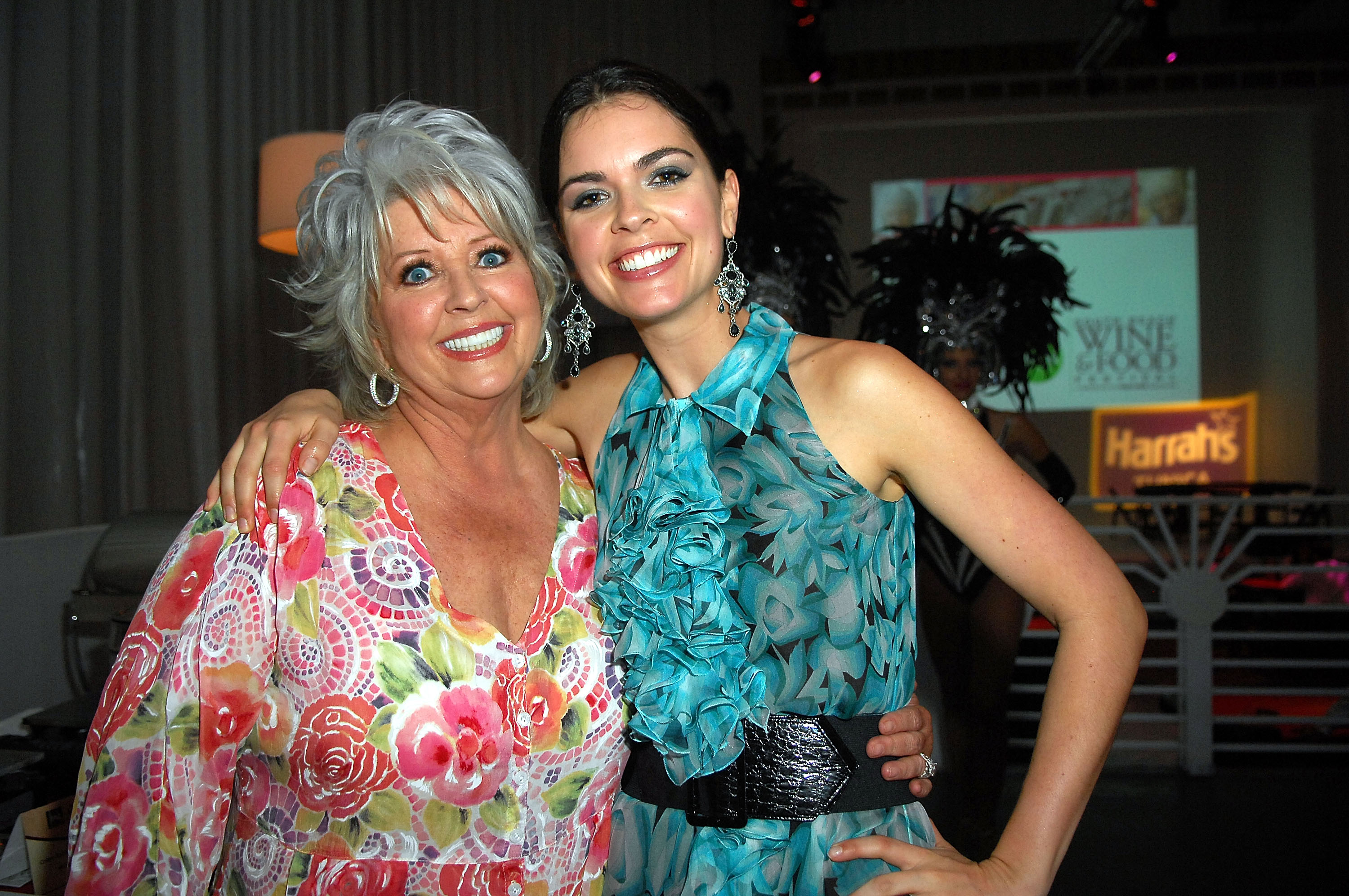 Paula Deen and Katie Lee Joel