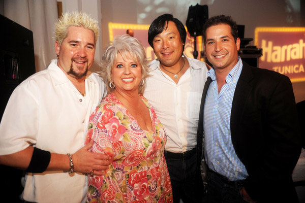 Guy Fieri, Paula Deen, Ming Tsai, Bobby Deen