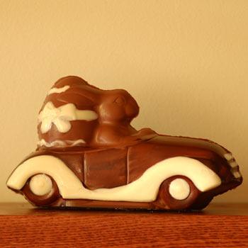 Cruisin Chocolate Bunny