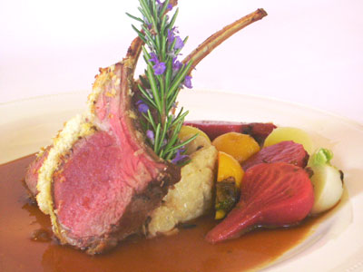 If you think Spring is all about veggies, then think again, there's also Spring Lamb with Honey & Thyme.